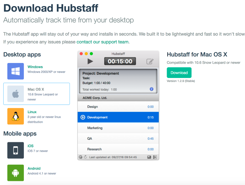 download hubstaff