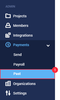payroll partial payments