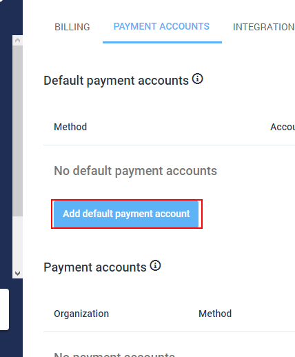 payment account 2